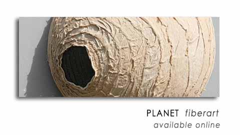 PLANET  fiberart